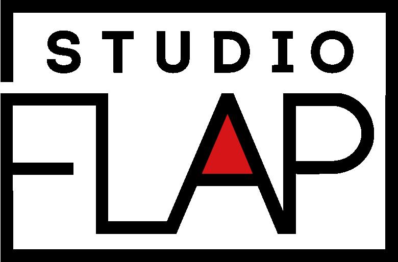 ダンススタジオフラップ ロゴ